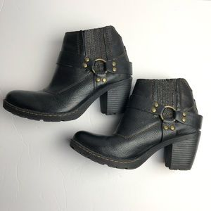Bolo leather boots